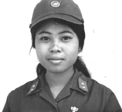 Лейтенант вьетнамской армии.