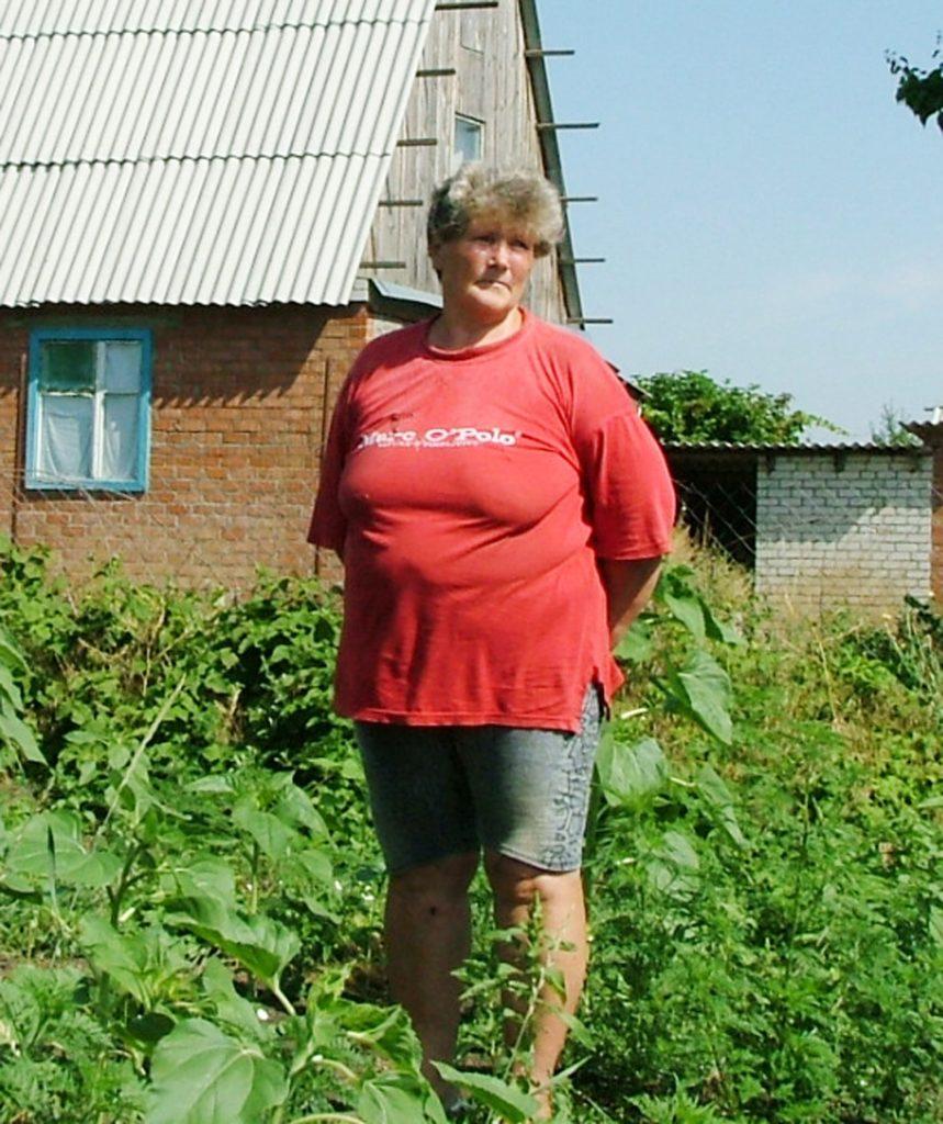 На снимке хозяйка дома Лилия Викторовна Кравцова