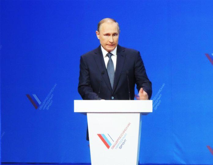 Президент РФ, лидер Общероссийского народного фронта (ОНФ) Владимир Путин
