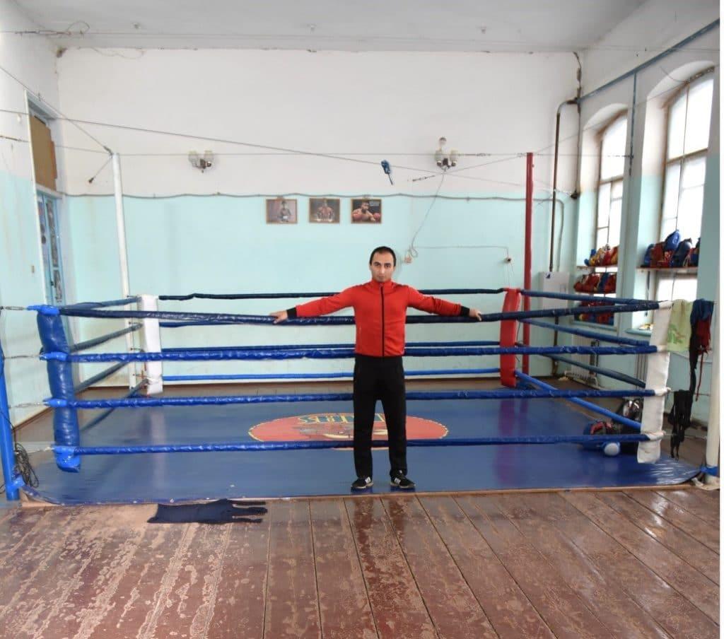 Так выглядит бойцовский спортзал