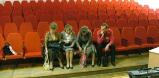 НА СНИМКЕ: на публичных слушаниях проекта бюджета: публики – ни одного человека... Фото из архива «Антиспрута».