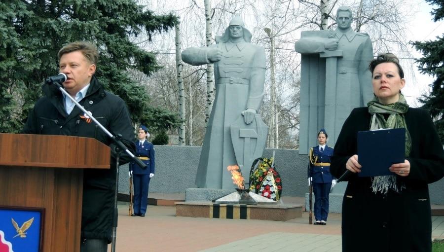 «Дорогой героев» прошагал Бессмертный полк и в Тимашевском районе1
