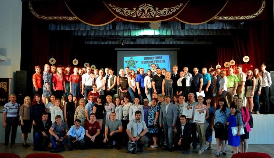«Дорогой героев» прошагал Бессмертный полк и в Тимашевском районе3