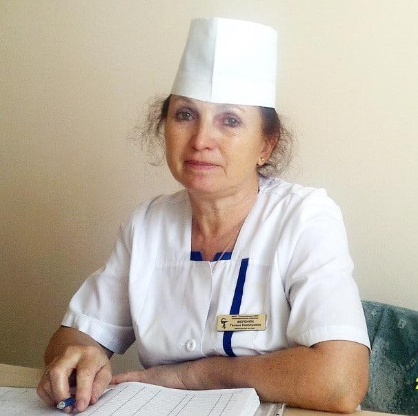 Медицинская сестра дневного стационара Тимашевской ЦРБ Галина Николаевна Меренюк