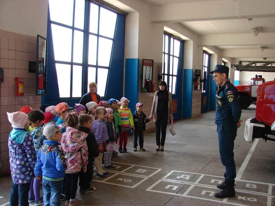 огнеборцы спросили детей