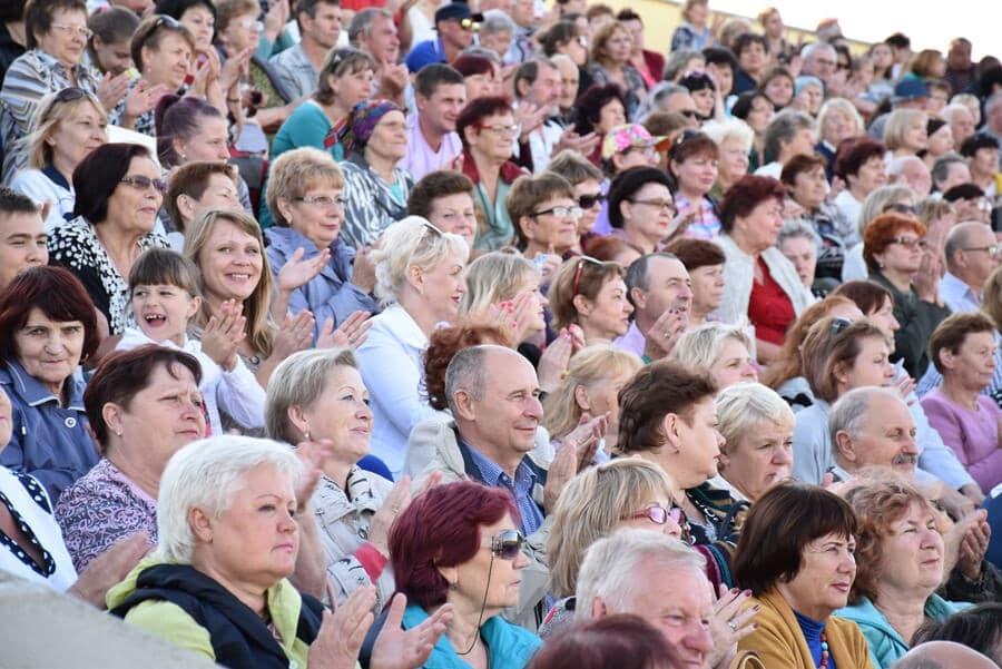 тимашевцы на праздничном концерте