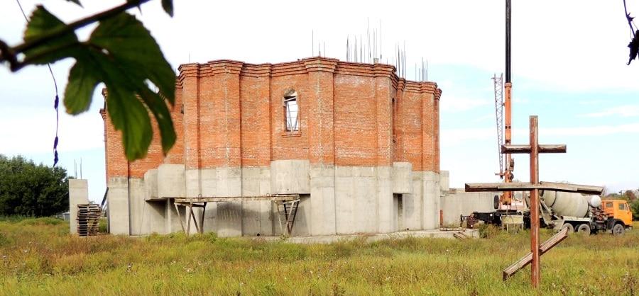 строительство свято-вознесенского храма в г.тимашевске