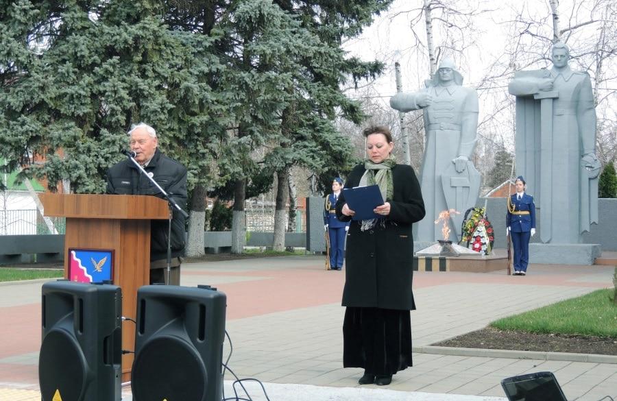 Акция «Бессметного полка в Тимашевске»2