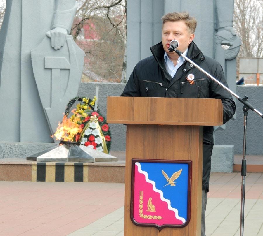 Акция «Бессметного полка в Тимашевске»3