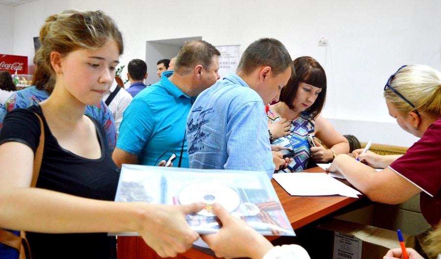 Акция «Бессметного полка в Тимашевске»5