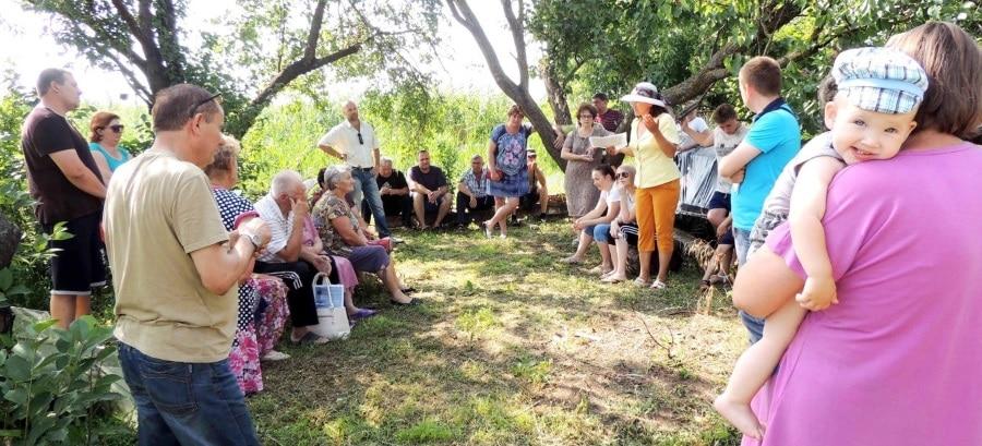 Собрание жителей микрорайона «Строитель» г. Тимашевска 1 июля 2017 года.