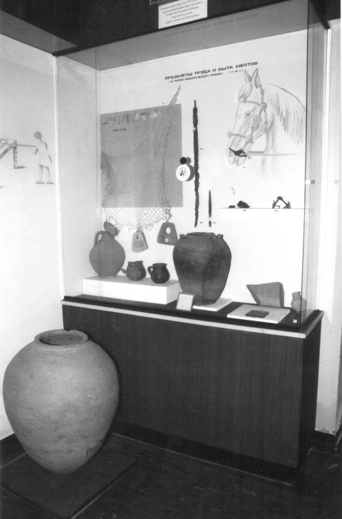 Уголок музея, ст. Новоджерелиевская