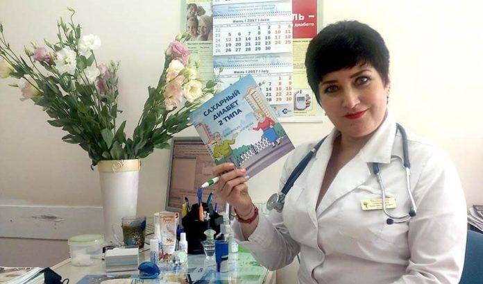 врач-эндокринолог тимашевской ЦРБ Анжелика Омаровна Слободенюк