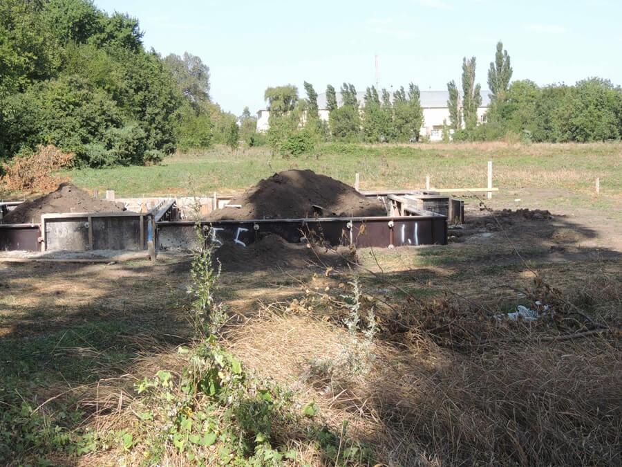 свежий фундамент на участке №188