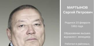 МАРТЫНОВ Сергей Петрович