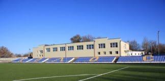 Стадион Колос в городе Тимашевск