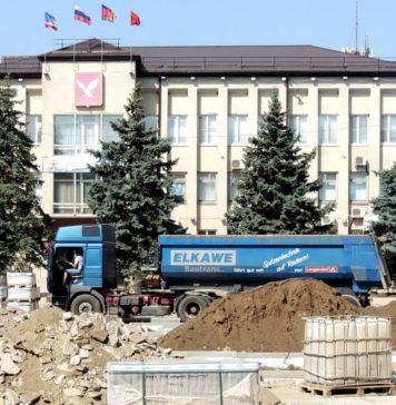 здание администрации города Тимашевска