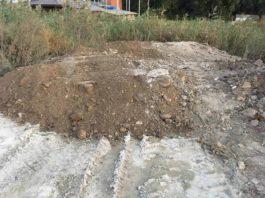 так сейчас выглядит куча… бетона